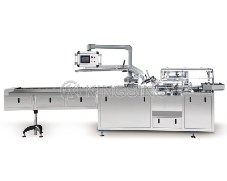 Automatic Carton Box Packaging Machine for Face Mask