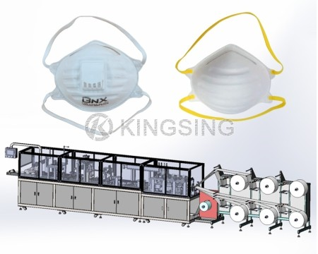 Automatic N95/FFP2 Cup Mask Making Machine
