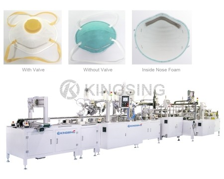 Automatic FFP2 Cup Mask Making Machine