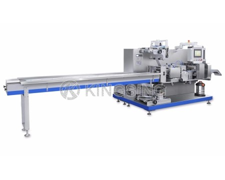 Four Sides Sealing Face Mask Packaging Machine